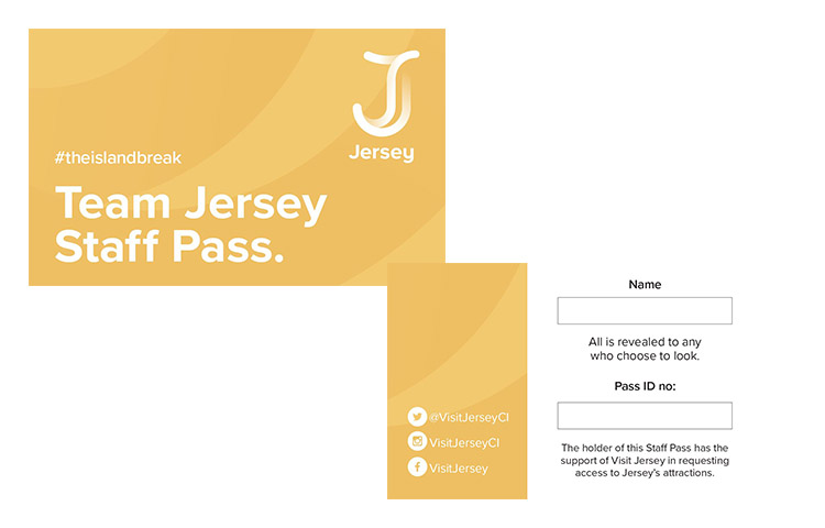 Team Jersey Staff Pass
